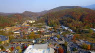 Gatlinburg Tennessee aerial video video