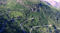 Gaularfjellet, Norwegian scenic mountain road video