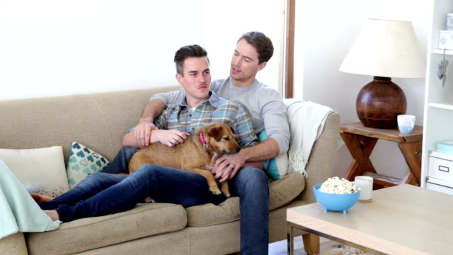 Gay Couple with thier Dog video