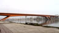 Gazela bridge, Belgrade, Serbia, Europe video