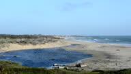 Gazos Creek State Beach in California along HW 1 video