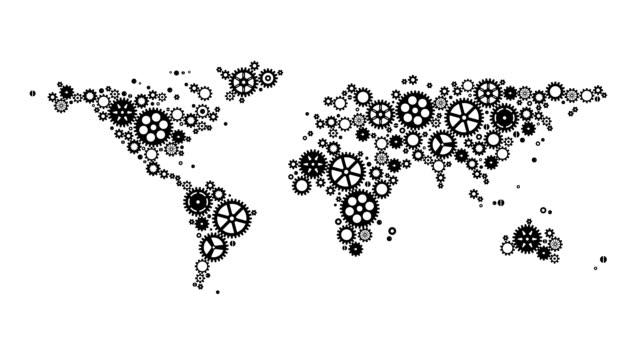 Gear Machine World Map Loop video