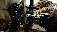 Gear machinery. video