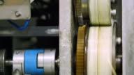 4K : Gears Of Milling Machine video