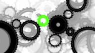 Gears, seamless loop video