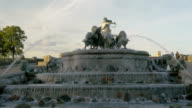 Gefion Fountain in Copenhagen video