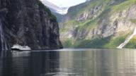 geiranger fjord video