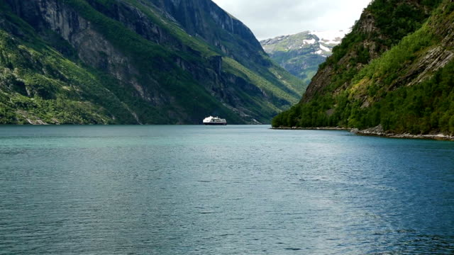 Geirangerfjord from the ferry video