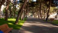 Gelendzhik city walk hyperlapse video