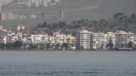 General city view, daliy life, Izmir, Turkey video