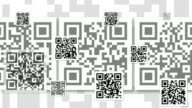 Generic QR Code Background Animation - LOOPABLE video