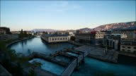 Geneva panorama timelapse video