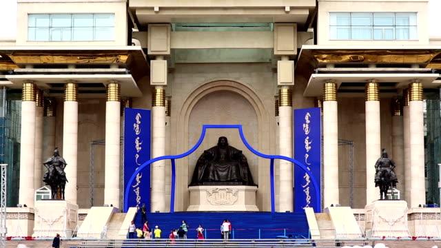 Genghis Khan Statue, Sukhbaatar Square video