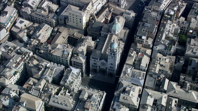 Genoa  - Aerial View - Liguria, Provincia di Genova, Genoa, Italy video
