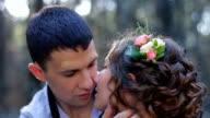 Gentle kiss. video