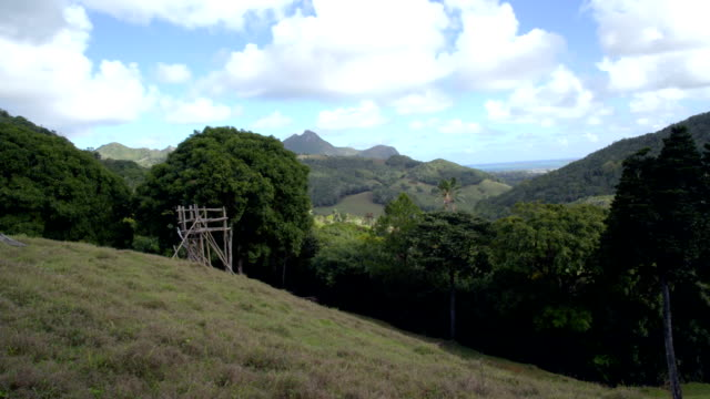 Gently Rolling Hills of Mauritius video
