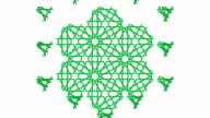 Geometric Islamic pattern video