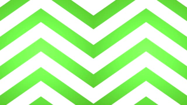 geometric loop upward arrows abstract motion background green and white video