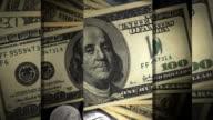 Geometric Money Loop Background video