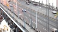 George Washington Bridge from the New Jersey side facing Manhattan video