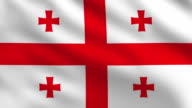 Georgia Flag video