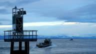 Georgia Strait, Stormy Dawn, British Columbia video