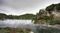 Geothermal Lake video