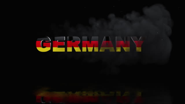 German Flag On Title is Revealing with Fire video