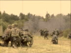 German troops video