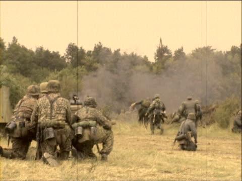 German troops video