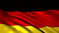 Germany charming flag video