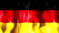 Germany Flag Animation video
