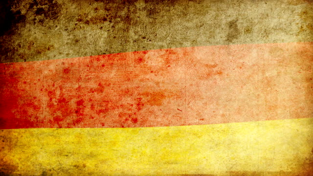 Germany Flag - Grunge. HD video