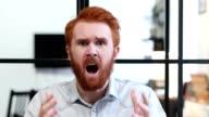 Gesture of Failure, Upset Man after Huge Loss video