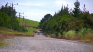 (HD1080i) Getaway: Driving Away on Summer Day in the Countryside video