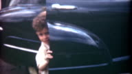 Getting Out of Car 1959 video