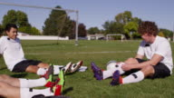 Getting Ready For Soccer Game video