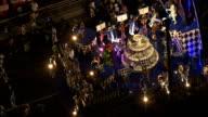 Getting Ready For the Carnival Parade  - Aerial View - Rio de Janeiro, Rio de Janeiro, Brazil video