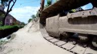 Giant Caterpillar Excavator video