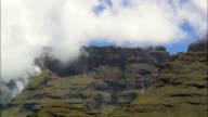 Giant's Castle And Dragon's Back Mountains  - Aerial View - KwaZulu-Natal,  uThukela District Municipality,  Okhahlamba,  South Africa video