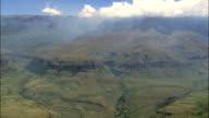 Giant's Castle Nature Reserve  - Aerial View - KwaZulu-Natal,  uThukela District Municipality,  Imbabazane,  South Africa video