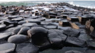 Giant's causeway in Northern Ireland video