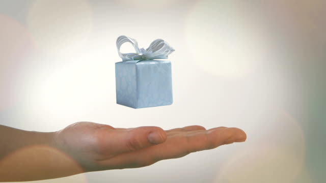 Gift box video