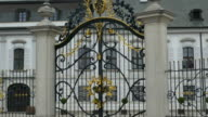 Gilded Gate Grassalkovich Palace video