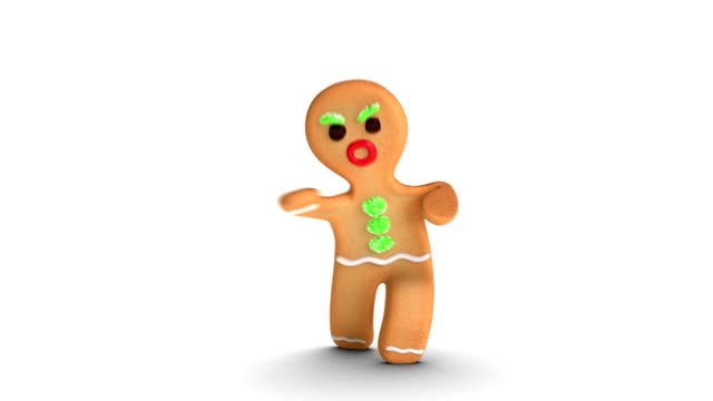 Gingerbread Man is Fighting video