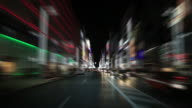 Ginza at night in Tokyo video