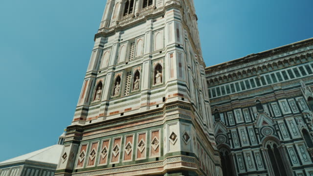 Giotto Campanile Bell Tower in Florence, Italy video