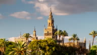 Giralda Spire Bell Tower of Seville Cathedral video