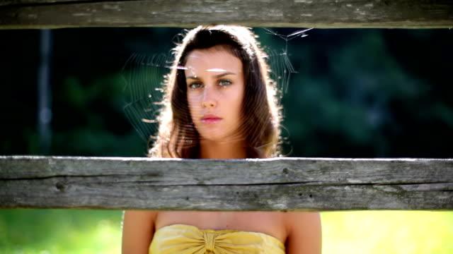 HD: Girl And Cobweb video