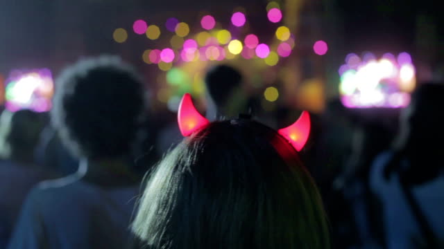 Girl at concert video
